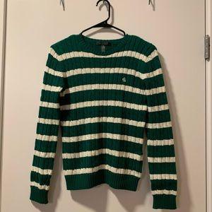 LAUREN Ralph Lauren Striped Sweater - Size XS